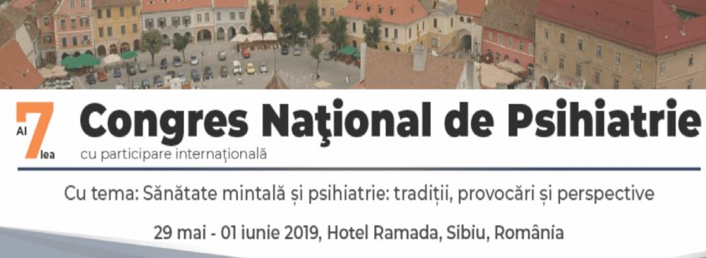 Rezumatele Congresului Național de Psihiatrie Sibiu 2019